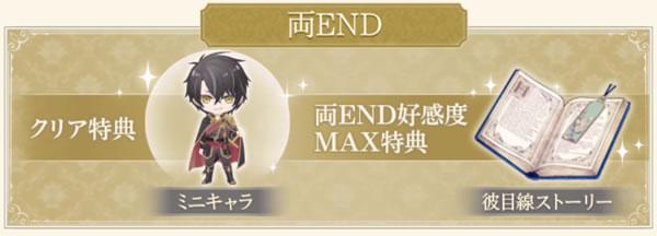 両END好感度MAX特典